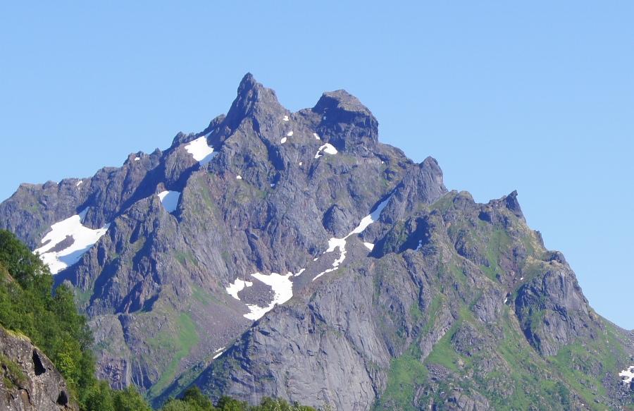 Sørbotntindan    Foto: Ragnhild Sandøy